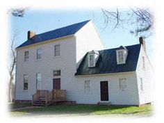 The Banks House- Pamplin Historical Park, VA-- Gen Grants Headquarters, also has one of the few remaining slave quarters and kitchen dating to 1840