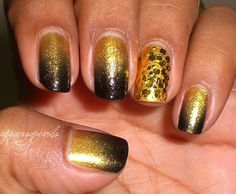 these are pretty but the sparkles should be cheetah print.