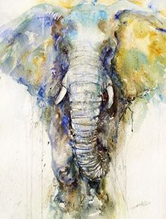 Teal Tusker Art Print by Arti Chauhan : Elephant art by Arti Chauhan Buy Paintings, Indian Paintings, Animal Paintings, Animal Drawings, Watercolor Animals, Watercolor Paintings, Painting & Drawing, Elephant Watercolor, Watercolor Paper