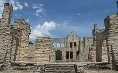 Ha Ha Tonka State Park is located on the Lake of the Ozarks and it has over 15 miles of hiking trail plus you can see Castle ruins! This should definitely be on your must see list this Summer!