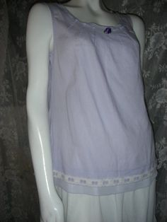 TUNIC LAVENDER Easy Wear Gorgeous Up Cycled by BohoDivaBoutique