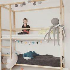 mommodesign: IKEA HACKS - Kura bed