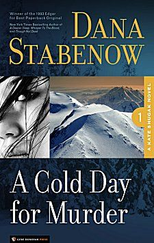 First Kate shugak novel.  Warning Dana creates such powerful characters I literally grieved when one died later in the series.     A Cold Day for Murder by Dana Stabenow ~ Kittling: Books