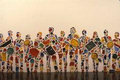 Brooklyn Museum: Tony Cragg: Menschenmenge