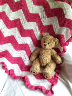 Beautiful Crochet Baby Blanket  Pink and by CornerCraftCreations, $50.00