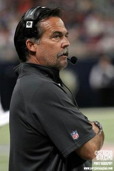 Jeff Fisher Is A USC Trojan. Played From 1977-1980. Drafted By Chicago Bears, Played 5 Seasons, Got A SB Ring 1985. Career Ended By Injury. Became A Coach & Ya'll Know The Rest...