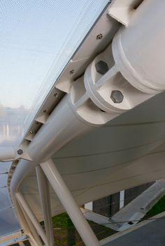 PVC Coated Fabric Court Roof ETFE Foil: Westlake Girls High School I Structurflex