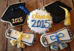 1 dozen graduation cookies