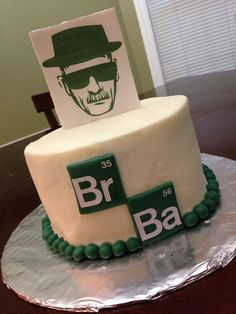 Breaking Bad Premiere Cake