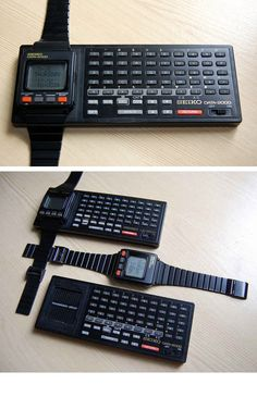 I always liked getting those calculator watches when I was a kid. This is perfect!!  Seiko Computer Watch, c.1983