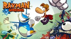 #1 Rayman Origins  - Video Game - Gameplay - Game Movie For Kids - Lets ...