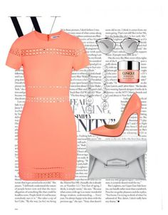 """""""let's party"""" by scarlettleroux on Polyvore featuring Elizabeth and James, Christian Louboutin, Givenchy, Tiffany & Co., Christian Dior and Clinique"""