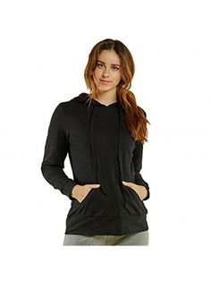 Made with quality thin cotton material, this casual style pullover hoodie is perfect for when you want extra protection without having a bulky jacket on or to keep up with your active lifestyle. Winter Outfits Women, Winter Coats Women, Coats For Women, Long Hoodie, Winter Clothes, Sweater Jacket, Pullover Sweaters, Hoodies, Hoodie