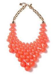 statement bib necklace idea