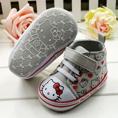Free shipping!one pair for retail,drop shopping!hello kitty baby unisex prewalker,infants shoes-in First Walkers from Shoes on Aliexpress.com $8.90