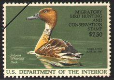 1986-87 Federal Duck Stamp