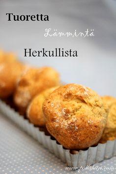 Pullahiiren leivontanurkka: Nopeat irlantilaiset soodasämpylät Muffin, Baking, Breakfast, Recipes, Food, Inspiration, Morning Coffee, Biblical Inspiration, Bakken