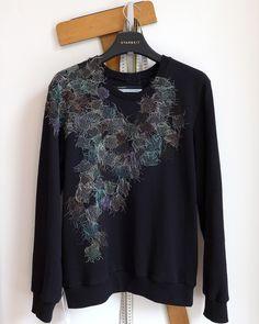 STARBEIT Sweater mit Netzwerk.
