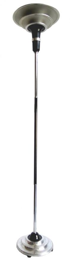 American Art Deco Triple Cone Torchiere Floor Lamp | Modernism