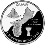 District of Columbia and United States Territories Quarters - 2009 U.s. States, United States, Coin Collecting Books, Polynesian Art, State Quarters, Coin Values, Crater Lake, Northern Mariana Islands, Guam