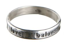 Might just be the message you need to give yourself. Yes. :: Beloved, Love Ring