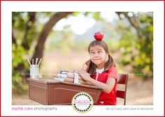 san diego back to school themed session photography for child newborn baby family best family photographers