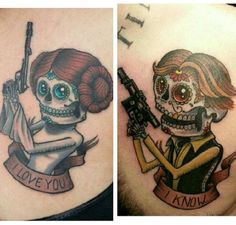 Couples Who Got Matching Tattoos They Hopefully Won't One Day Regret | Tattoos | Happy Place