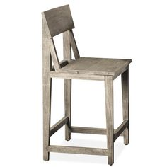 """Constructed of Acacia solid Seat height: 24"""" Sandblasted gray finish 18.00""""W X 18.00""""D X 39.00""""H Riverside Furniture, 24 Counter Stools, Live Edge Wood, Wood Table, Solid Wood, Chair, Acacia, Pewter, Conversation"""
