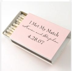 """I've met my match"" so cute and funny perfect wedding invitation"