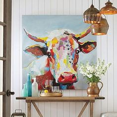 Bessie Wall Art - I want this in mt living room above the couch. Love her!!