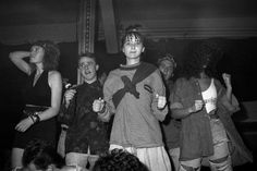 Dancing Ravers, 1980s (Photograph: Gavin Watson)