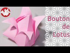 Origami - Bouton de lotus - Lotus Bud [Senbazuru] - YouTube
