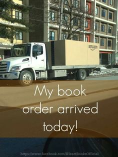 My book order arrived today!