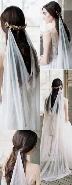 Top 20 Wedding Hairstyles with Veils and Accessories - Ahh - Bridal Array for a romantic wedding in spring - Frühlingshochzeit - Boda Trendy Wedding, Perfect Wedding, Wedding Styles, Dream Wedding, Wedding Day, Wedding Blog, Wedding Wishes, Wedding Movies, Wedding Music