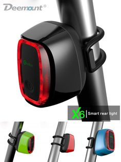 8638f8d4e4ce Meilan X6 Smart Bicycle Rear Light Bike Cycling Tail Lamp 16 LED USB  Rechargeable Lantern 7 Modes 4 Colors Rain Water Proof-in Bicycle Light  from Sports ...