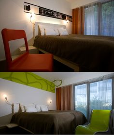 In a privileged location in Budapest, at the foot of the castle and right on the Danube, you can stay in the multi-award winning design hotel Lánchéd 19 Budapest, Buda Castle, Design Hotel, Contemporary, Architecture, Bed, Furniture, Home Decor, Homemade Home Decor