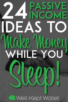 How does making money while you sleep sound? Well here are 24 passive income opt. How does making money while you sleep sound? Well here are 24 passive income opt. Make Money Fast, Make Money From Home, Passive Income Streams, How To Become, How To Make, Earn Money Online, Money Tips, Extra Money, Extra Cash