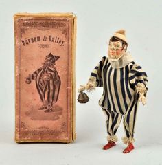 Early Handpainted Barnum & Bailey Clown Toy. : Lot 1691