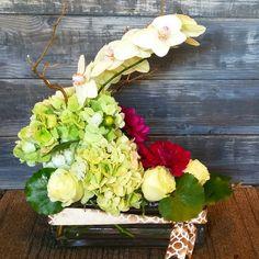 November 20, 2015. #sympathy #utahflorist #dahlia #orchids #morganharrisflowerdesigns