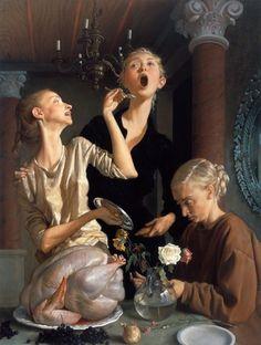 Juxtapoz Magazine - John Currin's Classical Nasty (NSFW)