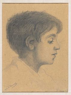 Young Roman, Vincent van Gogh 1880