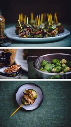 Brussels Sprout Sliders -- The perfect vegetarian, seasonal appetizer | foodfitnessfreshair.com