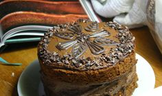 Chocolate Cake with Coffee, Guinness, Hazelnuts and Cocoa Nibs