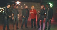 Kenny Rogers Teams Up With A Capella Band 'Home Free' This Christmas via LittleThings.com