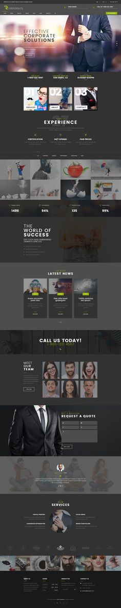 R-corporate - Multipurpose Business PSD Template by mwtemplates | ThemeForest