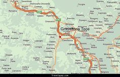 cool Map of Gravellona Toce
