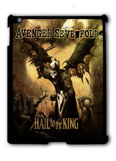 Avenged Sevenfold Hail to The King Cover iPad 2 3 4, iPad Mini 1 2 3 , iPad Air 1 2