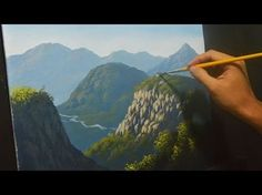 step by step acrylic painting techniques for painting mountains - Yahoo Video Search Results