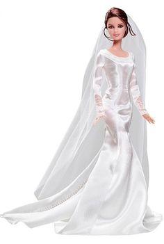 Diversos vestidos de noiva na boneca Barbie servem de inspiração