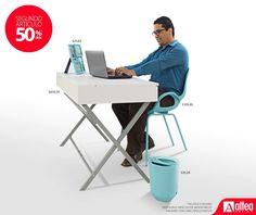 Sabías que al comprar el escritorio la famosa OH Chair te sale en $ 51.98 ivi. y al llevarte el basurero el portarretratos te sale en $12.82 ivi.  Vení a Altea y aprovechá hasta el 20 de Mayo la promoción del segundo artículo a 1/2 de precio.  *Aplican restricciones*